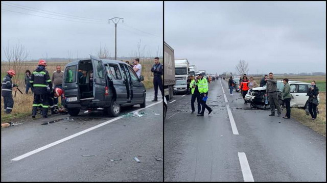 Accident grav pe E85. Un șofer a murit!