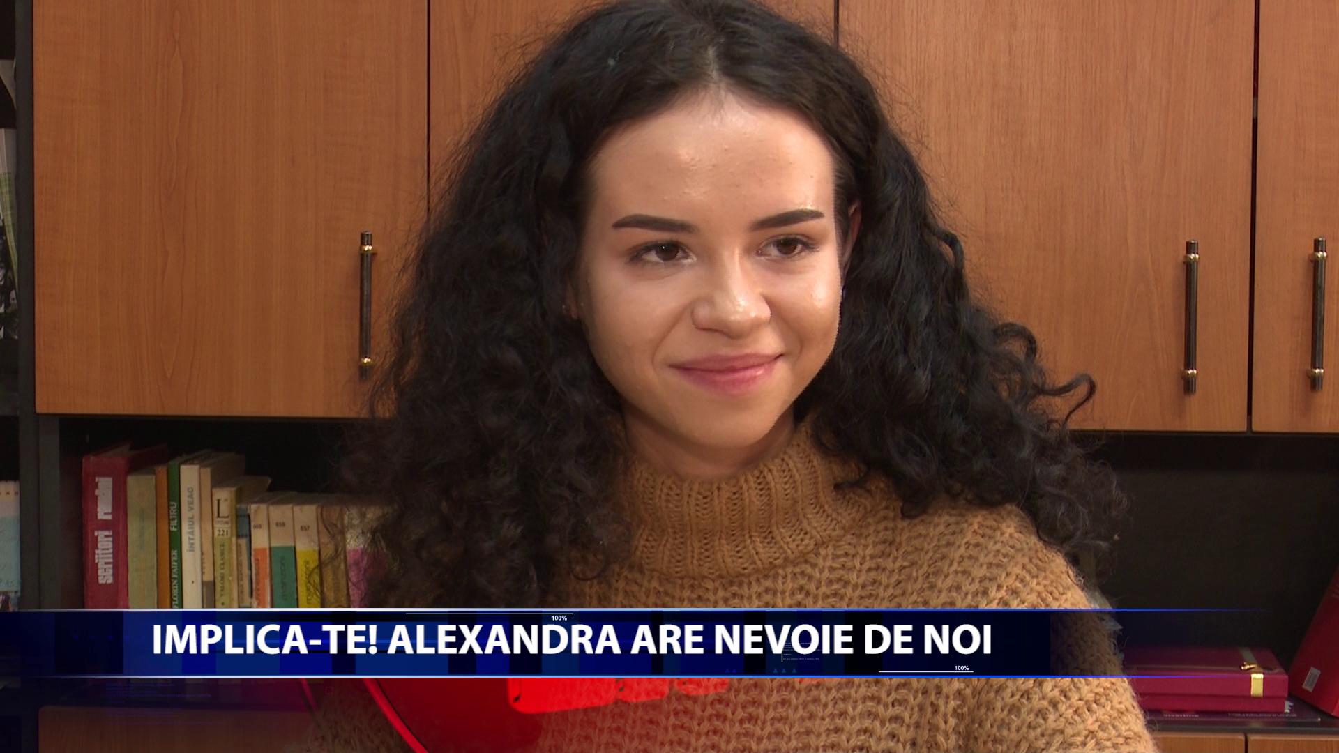 La cei 17 ani pe care ii are Alexandra se poate considera o luptatoare